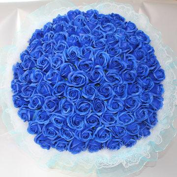 33朵香皂玫瑰花束肥皂手捧花创意女生送闺蜜实用情人生日特别礼物(99