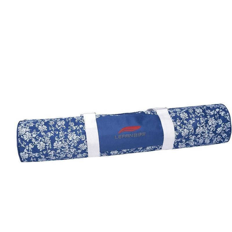 路伊梵LEF-011牛津布五金时尚圆筒包(迷人白手机配件瑜伽图片