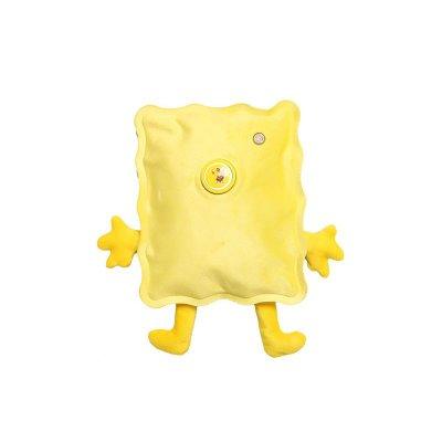喜家家海绵宝宝立体卡通图案暖水袋(黄色)