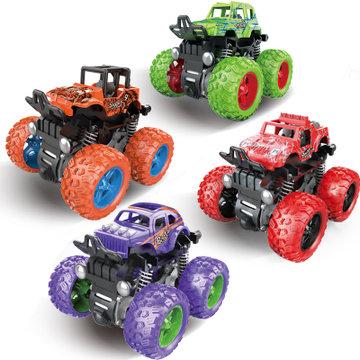 大脚怪惯性车 四种颜色随机发一款