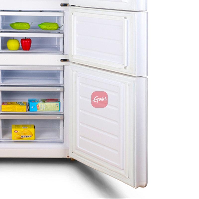 新飞冰箱bcd-275wgs水涟漪玻璃(白) 新飞275升三门冰箱,电脑温控,led
