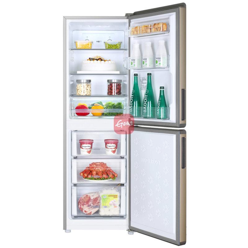 海尔冰箱bcd-190wdpt炫金