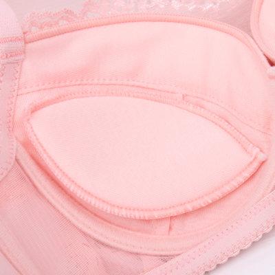 白色防走光带抹胸式文胸围横胸挡粉色黑色加厚