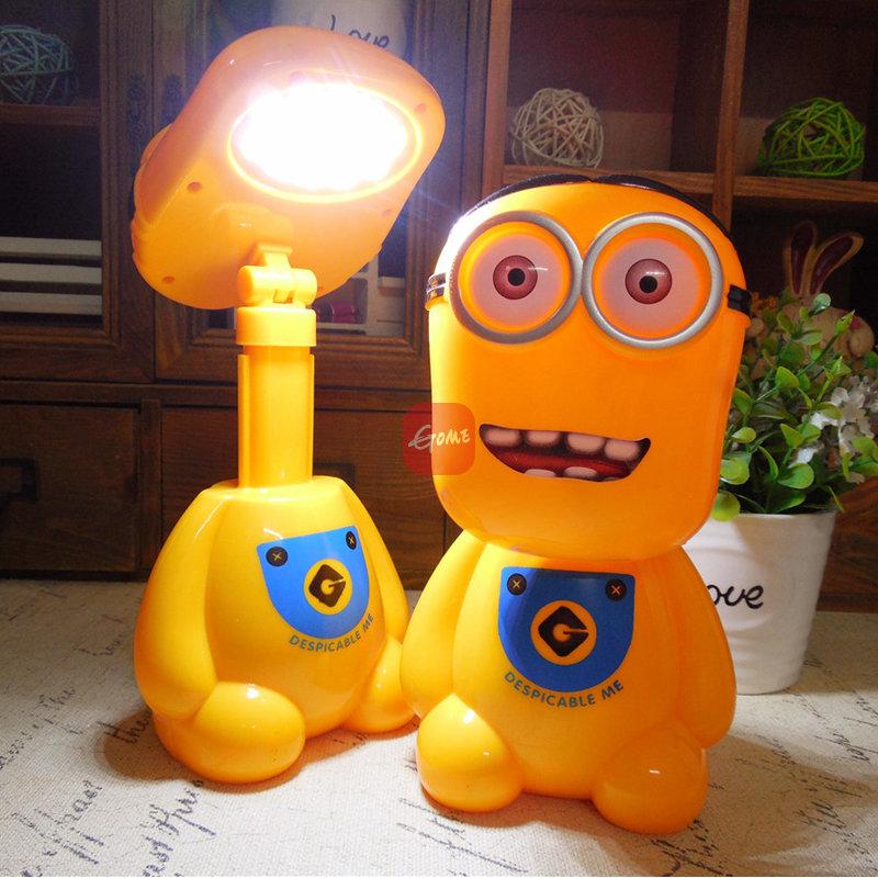 美吉特卡通儿童台灯充电led台灯(大白 )