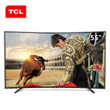TCL彩电L55H8800A-CF  55英寸 曲面高色域 海量影视在线 八核安卓智能LED液晶电视