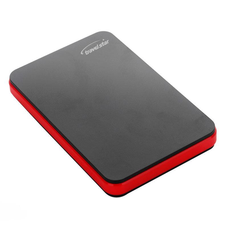 旅之星(Travelstar) 红玛丽 2.5寸 USB2.0 加密极速移动硬盘 100G第4张商品大图