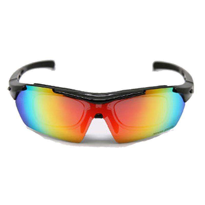 TOPEAK拓步骑行偏光眼镜带近视内框 户外运动太阳镜自行车防风护目镜 TSR838(珍珠光白)第2张商品大图
